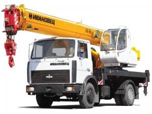 Автокран 16 тонн в аренду