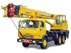 Автокран 25 тонн в аренду