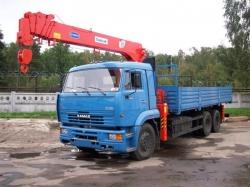 Аренда крана манипулятора с грузоподъемностью кузова 10 тонн